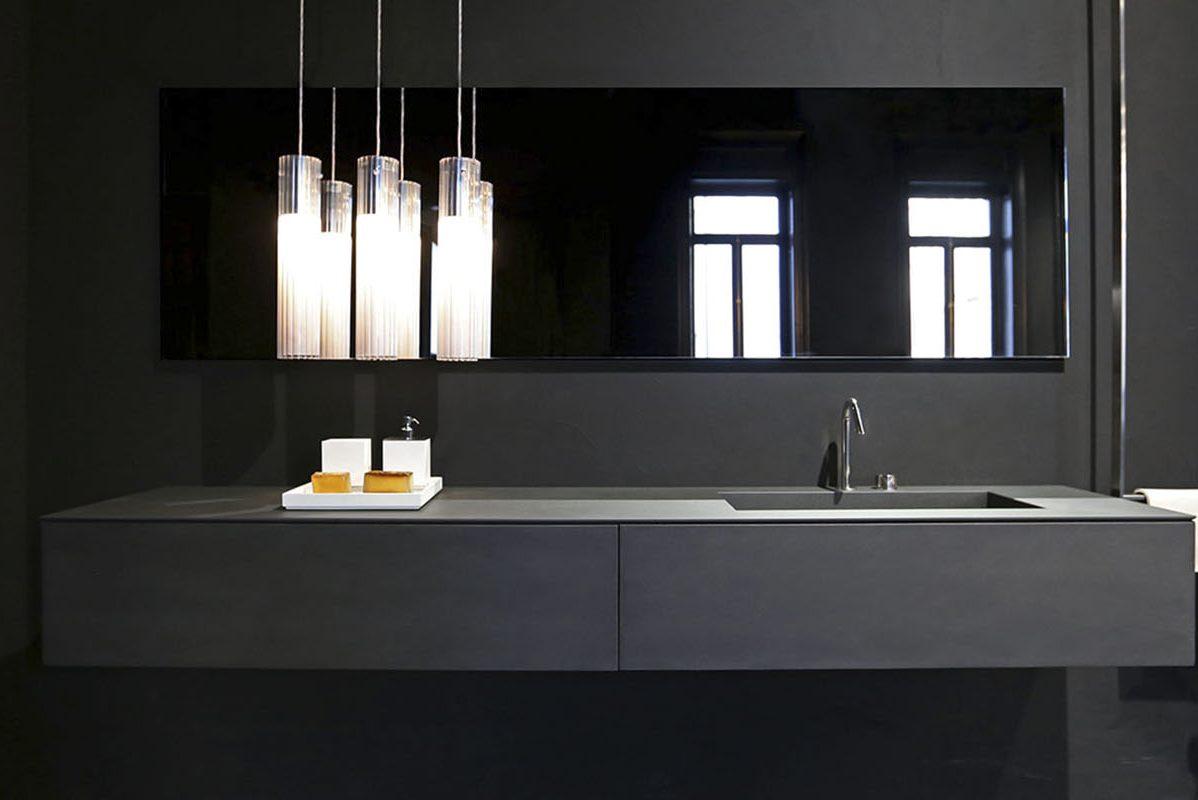 Elegant Modern Rifra Bathroom Furniture and Washbasins